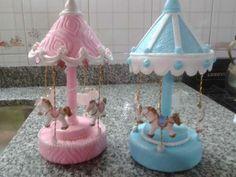 Caballitos Para Carrusel Porcelana Fria
