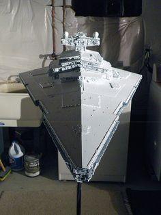 the RPF Star Wars Rpg, Star Wars Ships, Cardboard Model, Star Wars Spaceships, X Wing Miniatures, Prop Maker, Imperial Army, Star Wars Models, Real Model