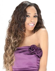 Outre Premium Purple Pack Human Hair Blend Weave MALAYSIAN MULTI 5