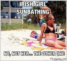 sun taning