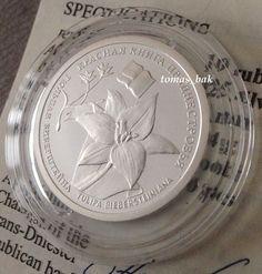 "10 roubles ""Tulip Bibershtain"" coin, 2008."