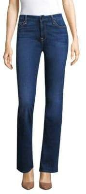 7 For All Mankind by by Women's Slim-Fit Boot Cut Jeans - Size 0 Cut Jeans, Jeans Size, Polyester Spandex, Skinny Jeans, Slim, Legs, Boots, Fitness, Cotton