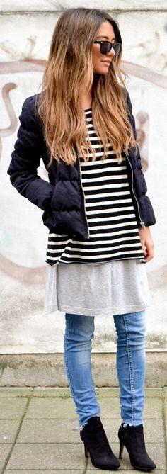 Malene Birger Grey Tee Dress by STONEMUSE.DK