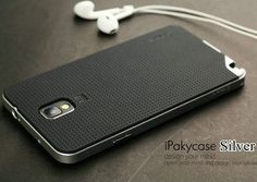 For Samsung Galaxy Note 3 case,original Ipaky Brand PC Frame + Silicone back cover cellphone case for Samsung Galaxy Note3