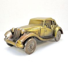 Banthrico 1953 MG Convertible Vintage by VintageCreekside on Etsy, $25.00