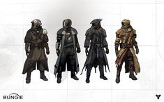 All Games Beta: Destiny Character and Environment Artwork