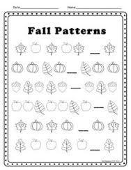 autumn worksheets kindergarten - Buscar con Google