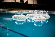 Floating wreath DIY via Nancy Liu Chin