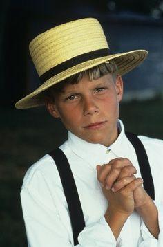 Young Amish boy.