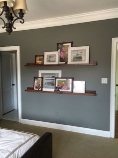 20+ Dark Grey Wall Paint Color Ideas For Your Cozy Bedroom