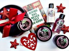 The Body Shop Christmas Giveaway #FrostedPlum