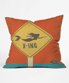 Anderson Design Group Mermaid Throw Pillow