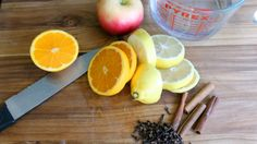 fall simmer pot ingredients
