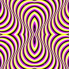 Moving Stripes Optical Illusion, Abstract Vector Seamless Pattern ...