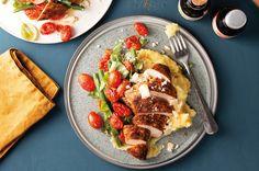 Italienischen Flair holen wir Dir mit unserem Griglia-Rezept in die Küche. Die mediterrane Gewürzmischung ist besonders gut zum Manieren geeignet.