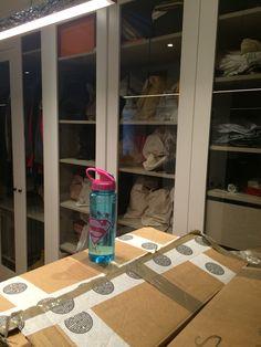 Walking closet in progress!!