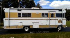 1970 Jagemann family Winnebago doing a burnout. Hope you find it entertaining. Old Campers, Retro Campers, Truck Bed Camper, Camper Van, Motor Homes For Sale, Bus Rv Conversion, Rv Motorhomes, Classic Campers, Custom Cars