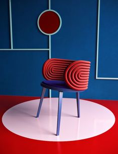 Unique chair design resource to help you become lovely Art Furniture, Unique Furniture, Furniture Design, Furniture Stores, Geometric Furniture, Furniture Chairs, Funky Furniture, Cheap Furniture, Office Furniture