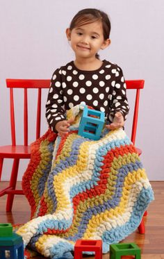 Be My Baby Throw  #crochet #pattern #easy  {love the look of this one but it will take a lot of yarn}