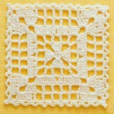 Transcendent Crochet a Solid Granny Square Ideas. Inconceivable Crochet a Solid Granny Square Ideas. Crochet Blocks, Granny Square Crochet Pattern, Crochet Squares, Crochet Motif, Crochet Doilies, Crochet Patterns, Cloth Patterns, Crochet Crafts, Crochet Projects
