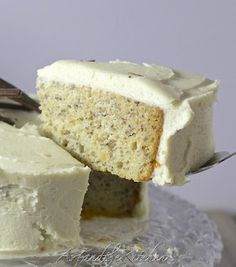 ArtandtheKitchen: Moist Banana Cake with Cream Cheese Frosting