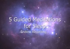 5 of my best sleep guided meditations, all combined into one seamless recording so that you can sleep peacefully throughout the night. 😴 Even if you wake up, I'll be there to gently nurse you back to sleep. 😴