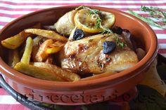 Pollo en papillote con ajo negro