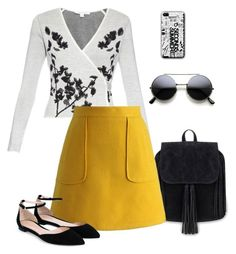 """Sem título #1028"" by alandim on Polyvore featuring moda, Diane Von Furstenberg, Chicwish, Gianvito Rossi, women's clothing, women's fashion, women, female, woman e misses"