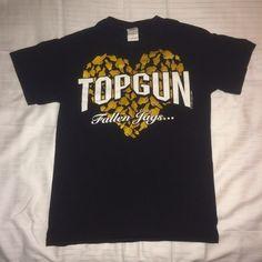 Top Gun Fallen Jags T-Shirt Top Gun T-shirt.  Size AS.  Shirt is to honor Top Gun's fallen Jags. Nfinity Tops Tees - Short Sleeve
