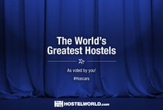 Discover the world's best hostels in the 13th annual #Hoscars Hostel Awards…