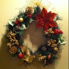 Another DIY wreath I did!