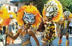 carnival, an annual tradition in Barranquilla, Colombia