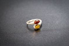 Fine Amber & Silver Rings, Amber Ring, Amber and sterling silver ring, silver ring, small ring, amber, rings, baltic amber, amber jewellery by BalticBeauty925 on Etsy