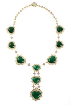 Emerald Diamond Gold Necklace | Luxify | Luxury Within Reach
