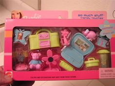 Barbie So Much Stuff Trendy Touches Accessory Set by Mattel, 2001