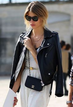 LEATHER JACKET, TOUGH LUZE, STREET STYLE