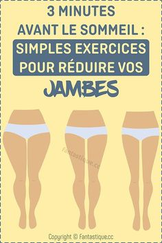 3 minutes avant le sommeil : simples exercices pour réduire vos jambes Physical Fitness, Yoga Fitness, Health Fitness, Sixpack Training, Hernia, Do Exercise, Tennis Players, Best Weight Loss, Stay Fit
