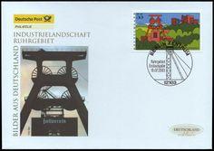 Alemania 2003 - Bilder aus Deutschland - Industrielandschaft Ruhrgebiet