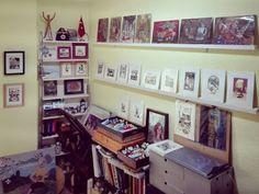 A Creative Journal of an Artist: Studio upgrade