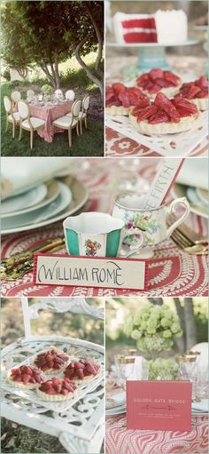 1 San Francisco Themed Wedding, Party, Celebration, Dinner party, birthday, Bridal Shower -  Pink, Red, Blue, Teal, Turquoise