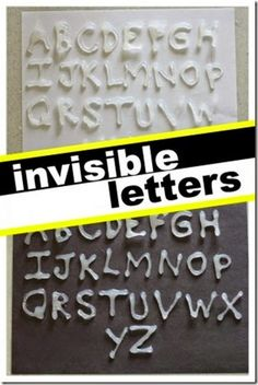 Alphabet soup- Learn your alphabet letters with invisible letters (I Can Teach My Child)