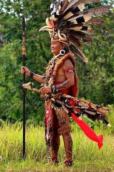 Dayak Warrior