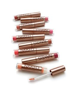 Urban Decay Naked Lipgloss- I love NAKED. Is it terrible that the color that looks best on me is called Walk of Shame? Beauty Secrets, Diy Beauty, Beauty Makeup, Beauty Hacks, Hair Makeup, Love Makeup, Makeup Tips, Fru Fru, Urban Decay Makeup