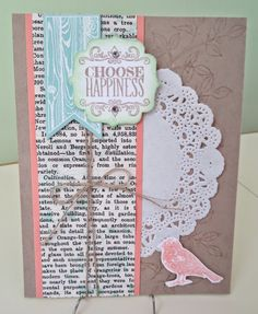 Klompen Stampers (Stampin' Up! Demonstrator Jackie Bolhuis): Choose Happiness From Convention Display