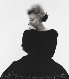 Marilyn Monroe in Vogue, 1962 by Bert Stern