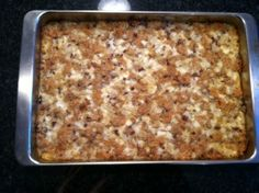 SpecialK Loaf — Traditional Seventh-day Adventist vegetarian casserole. Kinda like meatloaf. Great topped with sour cream, gravy, ketchup, etc (one of those, not all together!). Leftovers make great sandwiches, too. We use walnuts instead of pecans.