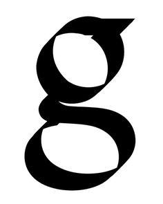 glyph by Maziar Hasheminiya 2014 #typeclasslobe #hfgoffenbach by typeclass_lobe