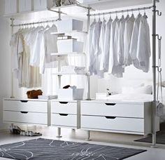 Dressing #myIKEAbedroom