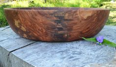 XXLarge 21 Wood Bowl Red Elm centerpiece by oneofakind2woodbowls, $600.00