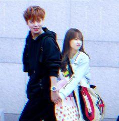 Winkdaeng [Park Jihoon × Choi Yoojung] Kpop Couples, Cute Couples, Choi Yoojung, Kim Sejeong, Photos Tumblr, Aesthetic Photo, Besties, Kdrama, I Am Awesome
